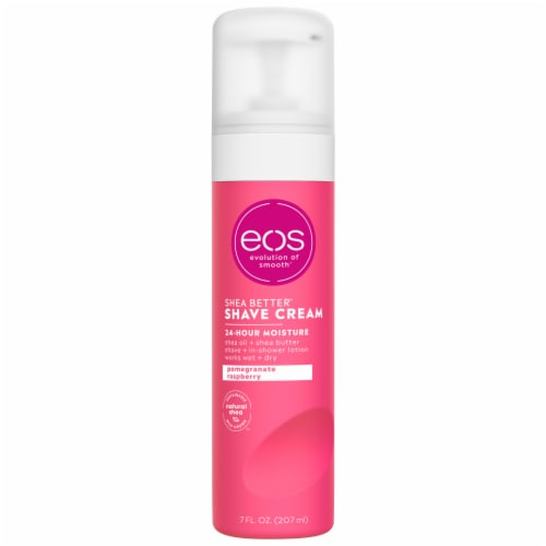 EOS Pomegranate Raspberry Shave Cream Perspective: front