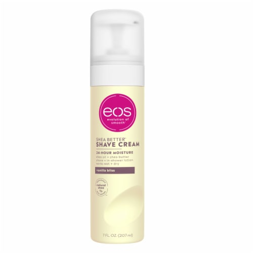 EOS Vanilla Bliss Shave Cream Perspective: front