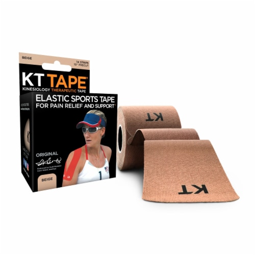 KT Tape Elastic Sports Tape For Pain Relief & Support Perspective: front