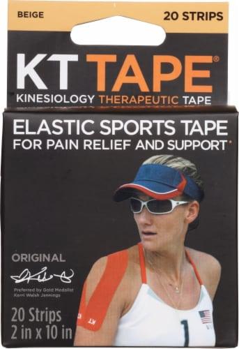 KT Tape Original Elastic Sports Tape - Beige Perspective: front