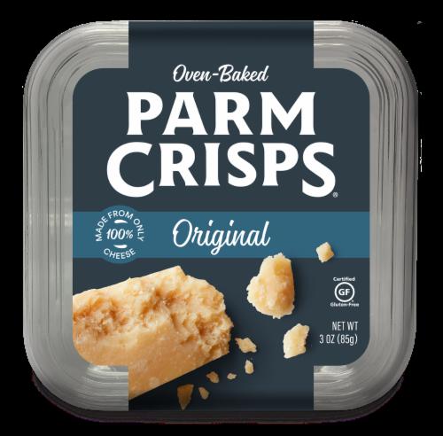 ParmCrisps Original Parmesan Crisps Perspective: front