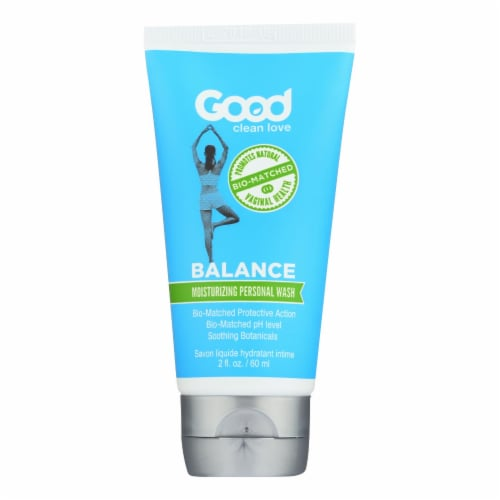 Good Clean Love Balance Moisturizing Personal Wash  - 1 Each - 2 OZ Perspective: front
