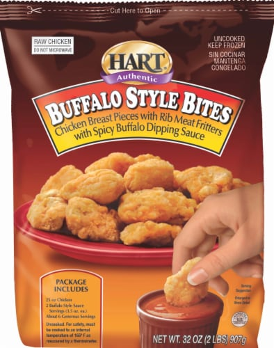 Hart Authentic Buffalo Style Chicken Bites Perspective: front