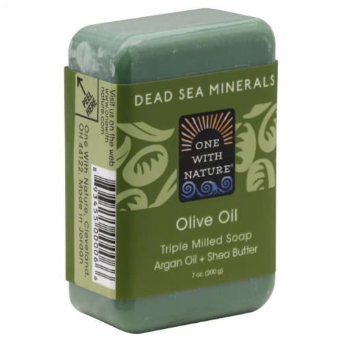 One With Natue Olive Oil Milled Soap Perspective: front