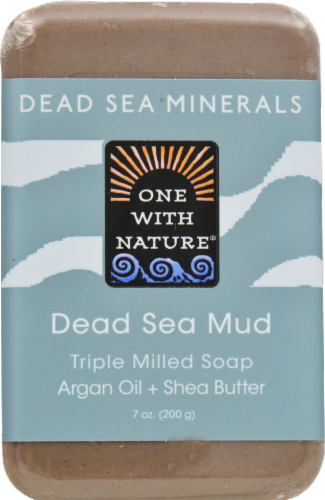 One With Nature Dead Sea Mud Soap Perspective: front