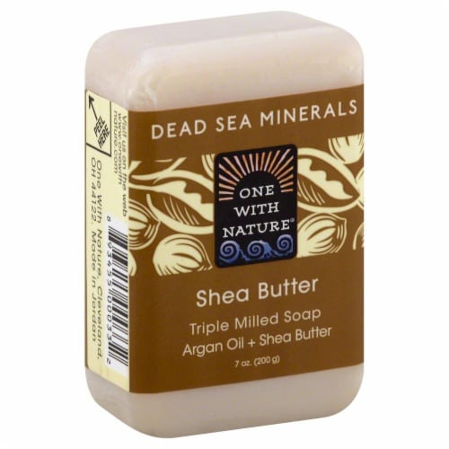 One with Nature Shea Butter Soap Perspective: front