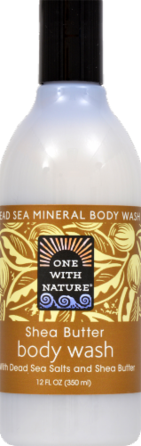One with Nature Shea Butter Body Wash Perspective: front