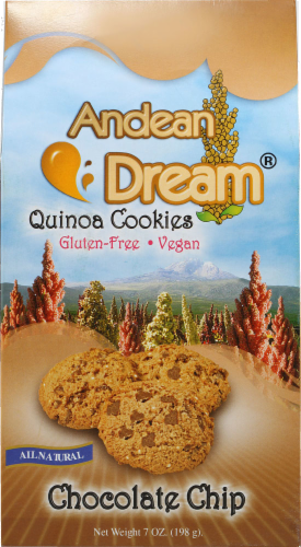 Andean Dream Chocolate Chip Quinoa Cookies Perspective: front