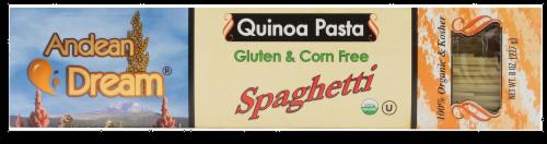 Andean Dream Spaghetti Quinoa Pasta Perspective: front