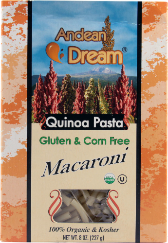 Andean Dream Quinoa Pasta Macaroni Perspective: front