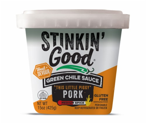 Stinkin Good Green Chili Perspective: front