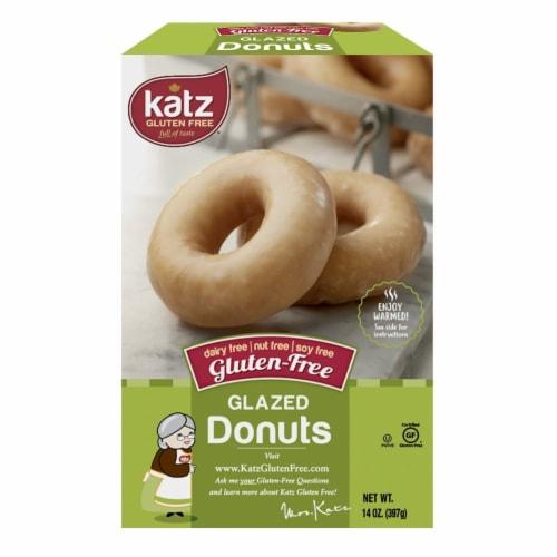 Katz Gltuen-Free Glazed Donuts Perspective: front