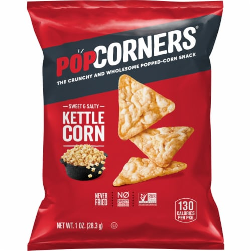 PopCorners Kettle Corn Popped Corn Snack Perspective: front