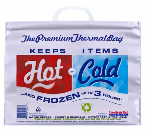 American Bag Thermal Hot/Cold Bag Perspective: front
