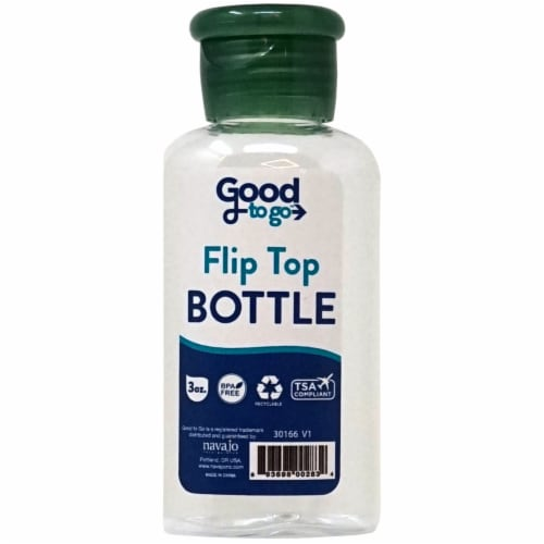 Good To Go Disk Top Bottle Perspective: front