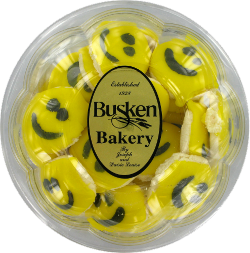 Busken's Mini Iced Cookies Perspective: front