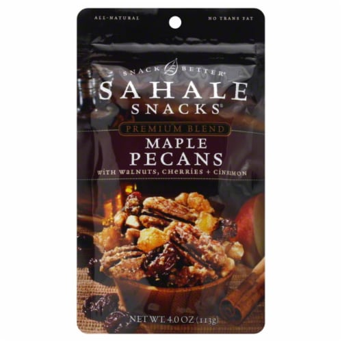 Sahale Snacks Pecans Maple Perspective: front
