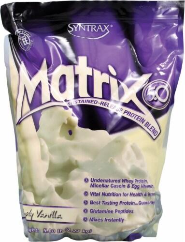 Syntrax  Matrix® 5.0   Simply Vanilla Perspective: front