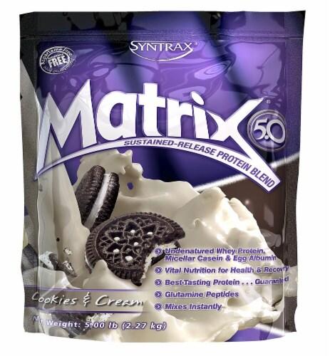 Syntrax  Matrix® 5.0   Cookies & Cream Perspective: front