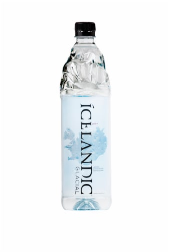Icelandic Glacial Natural Spring Water Perspective: front