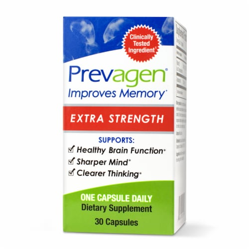 Prevagen Extra Strength Memory Dietary Supplement Capsules 20mg Perspective: front