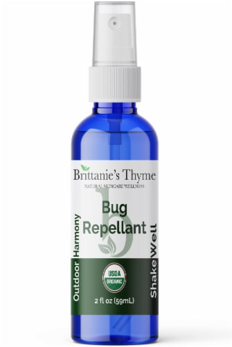 Brittanie's Thyme Organic Bug Repellent Perspective: front