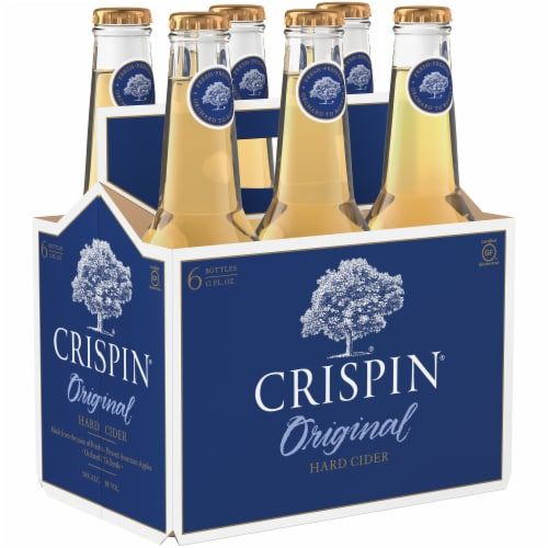 Crispin Original Glulten Free Hard Cider Perspective: front