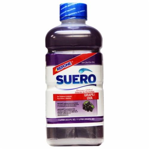 Repone Suero Grape Pediatric Electrolyte Solution Perspective: front