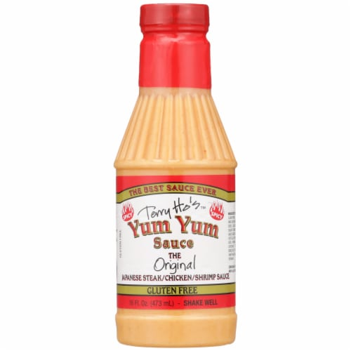 Terry Ho's Spicy Yum Yum Sauce Perspective: front