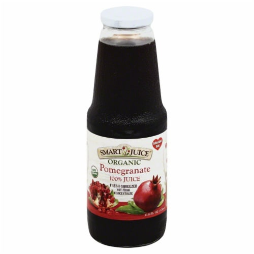 Smart Juice Organic Pomegranate Perspective: front