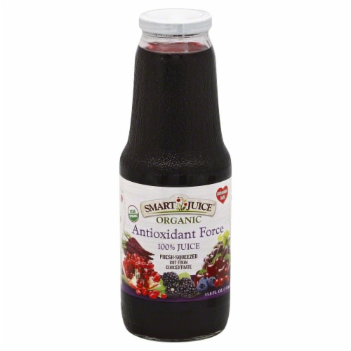 Smart Juice Organic Antioxidant Force Juice Perspective: front