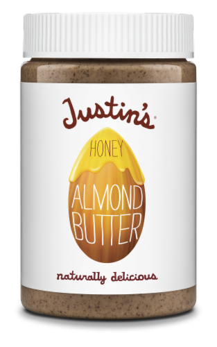 Justin's Honey Almond Butter Perspective: front