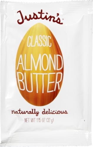 Justin's Classic Almond Butter Squeeze Pack Perspective: front