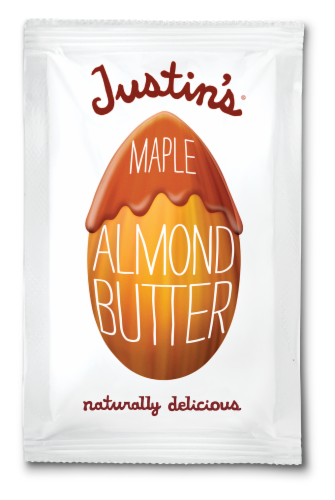 Justin's Maple Almond Butter Squeeze Pack Perspective: front