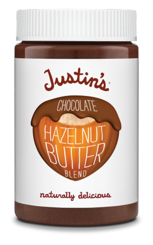 Justin's Chocolate Hazelnut Butter Blend Perspective: front