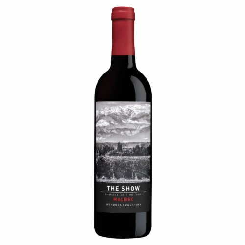 The Show Malbec Red Wine Perspective: front