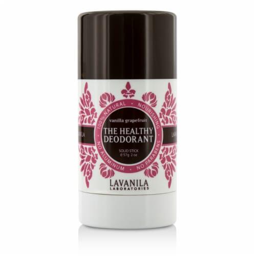 Lavanila Laboratories The Healthy Deodorant - Vanilla Grapefruit -  - 2 oz. - Pack of 3 Perspective: front