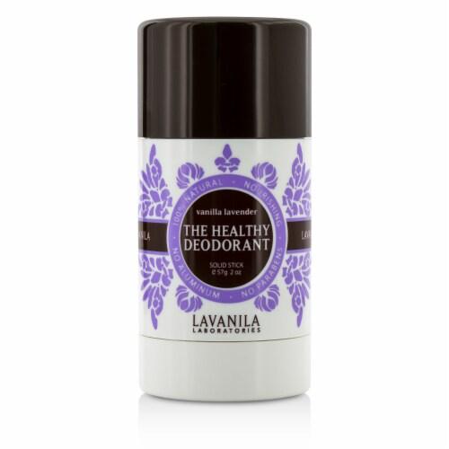 Lavanila Laboratories The Healthy Deodorant - Stick - Vanilla Lavender - 2 oz - Pack of 3 Perspective: front