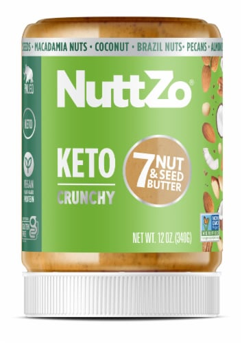 Nuttzo Keto Nut & Seed Butter Perspective: front