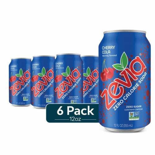 Zevia Zero Calorie Cherry Cola Perspective: front