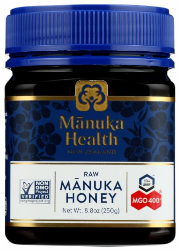 Manuka Health - Mgo 400+ Manuka Honey - 8.8 OZ Perspective: front