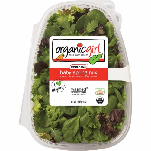 organicgirl Baby Spring Mix Family Size Perspective: front