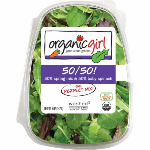 organicgirl 50/50 Mixed Greens Perspective: front