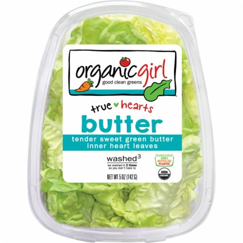 organicgirl True Hearts Butter Leaves Perspective: front