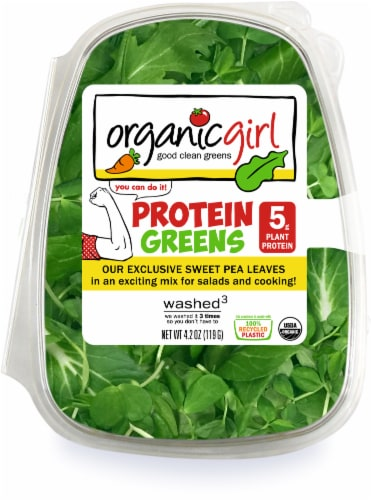 organicgirl Sweet Pea Protein Greens Perspective: front