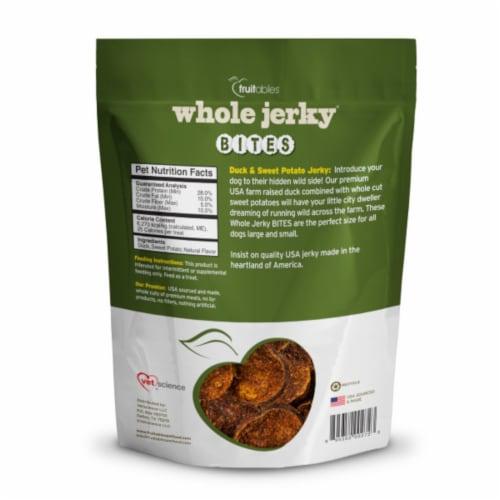 Fruitables® Duck & Sweet Potato Whole Jerky Bites Dog Treats Perspective: front