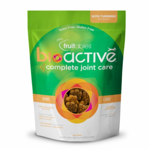 Fruitables® BioActive™ Complete Joint Care Dog Treats Perspective: front