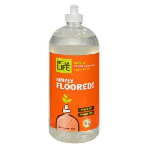 Better Life Simply Floored Floor Cleaner Perspective: front