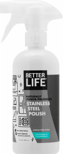 Better Life Stainless Steel Polish Perspective: front