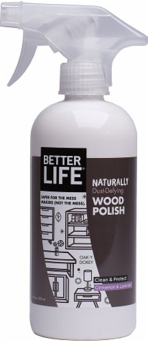 Better Life  Wood Polish Cinnamon & Lavender Perspective: front